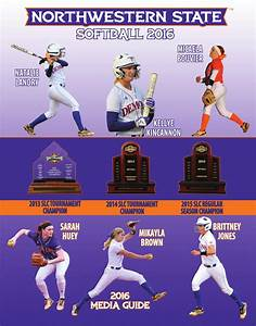 Northwestern State Softball 2016 Media Guide by ...