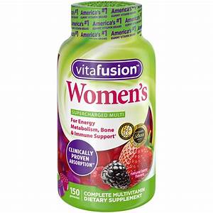 Vitafusion Women U0026 39 S Gummy Vitamins  150ct - Walmart Com