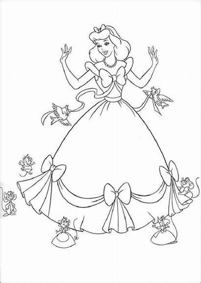 Colorear Dibujos Princesas Pintar Princesa