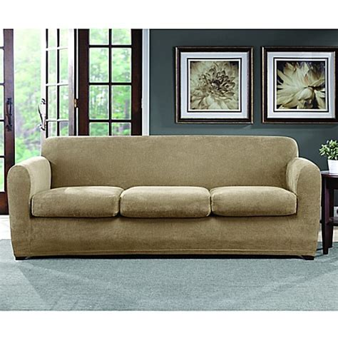 sofa cover sale online sure fit ultimate stretch chenille 3 cushion sofa
