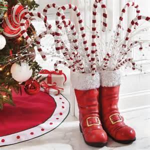oversized santa boots the green head