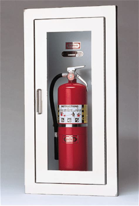 Larsens Extinguisher Cabinets Leed by Larsen S Architectural Series Surface Mounted