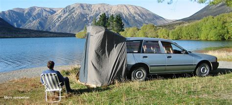 New Zealand Campervan Hire : Camping Ground
