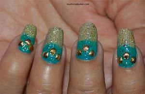 Seashell Nail Design nail art by Demi - Nailpolis: Museum ...