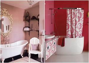 salle de bain rose chroniques d39une chocoladdict With salle de bain design avec décoration gateaux anniversaire