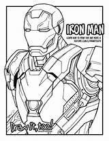 Iron Coloring Marvel Colorear Vengadores Giant War Mark Civil Captain Libro America Dibujos Draw Too Ecologicos Fortnite Drawittoo Days Caracteristicas sketch template