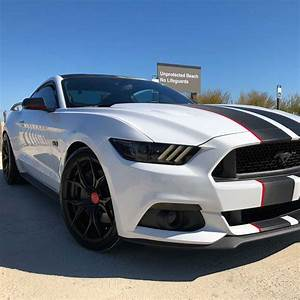 6th gen white 2016 Ford Mustang GT Roush Stage 2 For Sale - MustangCarPlace