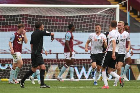 Ex-referee demands change after Aston Villa vs Sheffield ...