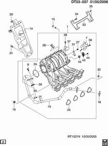 Chevrolet Epica Valve  Engine Fuel Intake Manifold  Valve