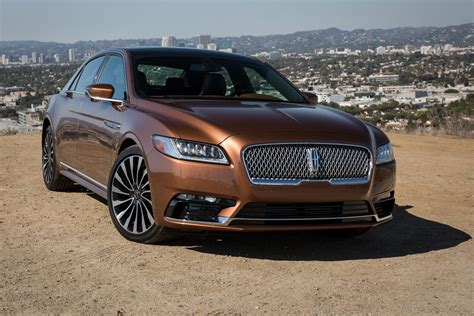 lincoln 2017 white 2017 lincoln continental first drive review