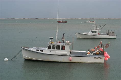 Cape Cod Boats by Photo 432 04 Fishing Boats And Tern Island View From A