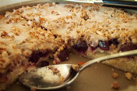 cherry almond cake port cherry swirled coffee cake with almond streusel