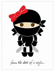 Cute girl ninja clipart kid - Cliparting.com
