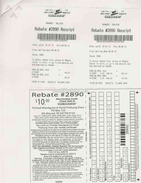 menards rebate 2890 shorted 40 may 30 2017 pissed