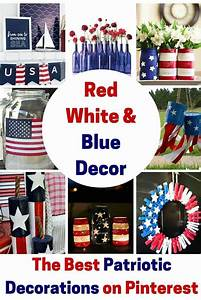 12, Red, White, And, Blue, Decoration, Ideas