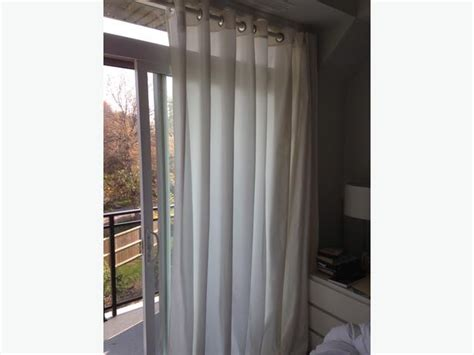 ikea merete brown curtains ikea merete curtains 2 pair s nepean ottawa