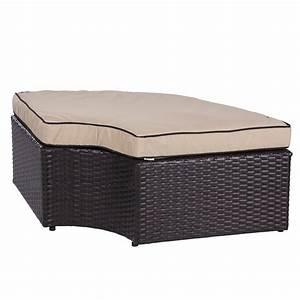 Rattan Lounge Set : patio 2 in 1 rattan wicker lounge set round sunbed sofa w canopy outdoor daybed ebay ~ Orissabook.com Haus und Dekorationen