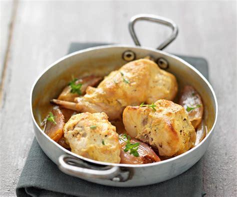 cuisiner le lapin à la moutarde plat gourmand lapin à la moutarde