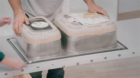 plan de travail cuisine inox ikea tuto cuisine 4 plan de travail évier et table de