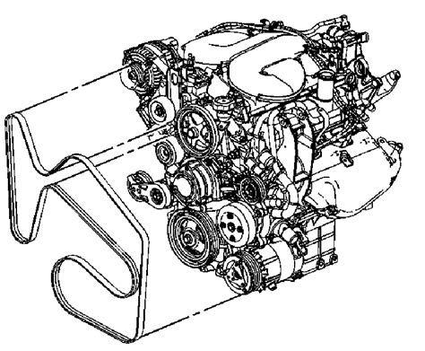 4 8 Chevy Engine Belt Diagram by Need A Fan Belt Diagram For 2008 Impala 3 8l Engine