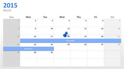 powerpoint calendar template powerpoint calendar the start for 2015 presentationload
