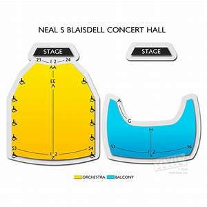 Neal S Blaisdell Center Seating Chart Neal S Blaisdell Concert Hall Seating Chart Vivid Seats