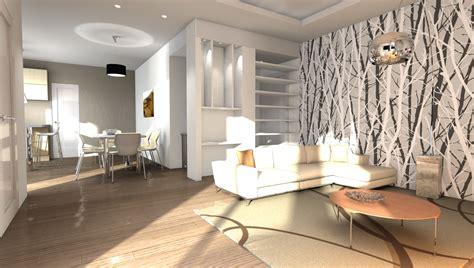Colori Per Appartamenti Interni Esempi Di Render Fotorealistici Interni Di Progetto 3d Di
