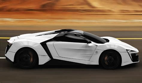 Lykan Hypersport, Most Expensive Supercar Made In Arabic