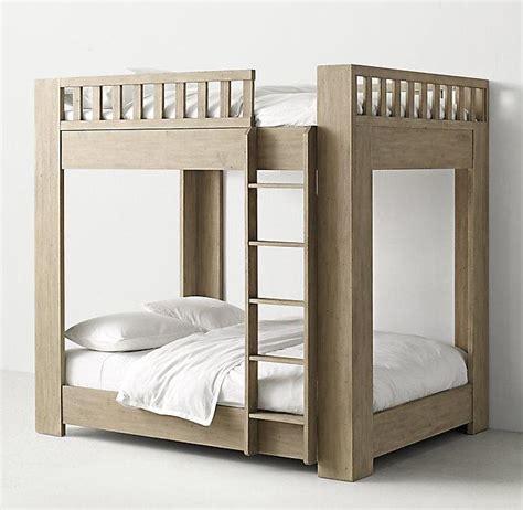 chesterfield upholstered full  full grey bunk bed