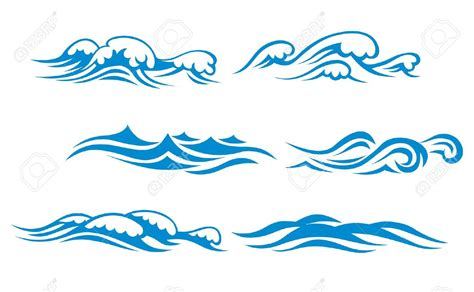 Pencil And In Color Wave Clipart Vector
