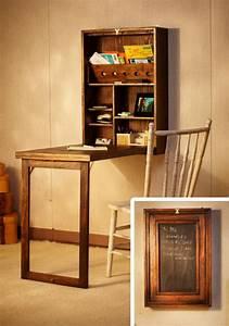 Petite Table Bureau : 63 mod les originaux de table gain de place ~ Teatrodelosmanantiales.com Idées de Décoration