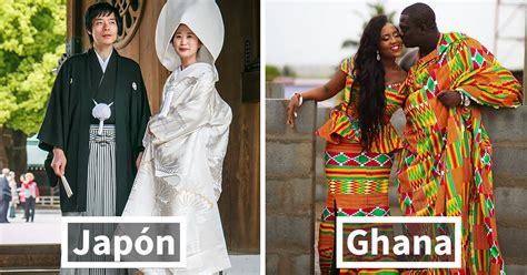 los trajes tradicionales de boda alrededor del mundo