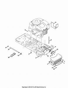 Mtd 13w277ss031 Lt 4200  2015  Parts Diagram For Engine