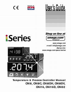 User U2019s Guide Temperature  U0026 Process Controller Manual