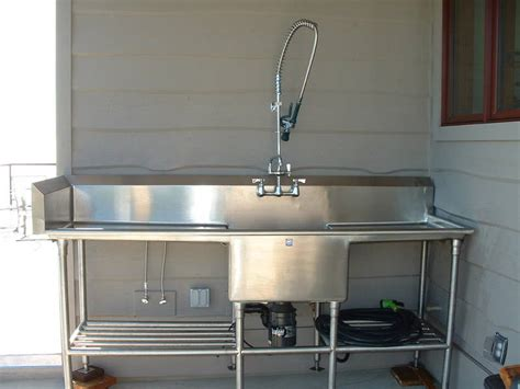 Stainless Steel Fish Cleaning Station With Sink by Water Heater Stinky Water Page 6 The Town Tavern