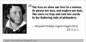 Tanvir's Bl... Aleksandr Sergeyevich Pushkin Quotes