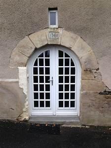 Porte Fenetre Bois 2 Vantaux : porte fen tre cintr e 2 vantaux petits bois coll s portes fenetres fen tres cintr es porte ~ Dode.kayakingforconservation.com Idées de Décoration