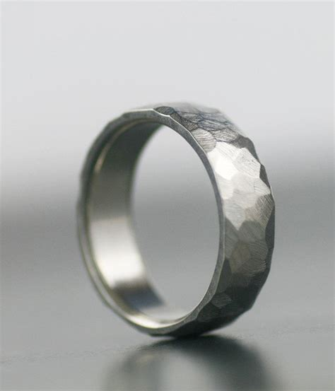 s wedding band 950 palladium 14k white gold