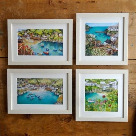 Small Prints  Framed  Cliffside Gallery