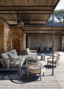 les 25 meilleures idees de la categorie terrasse couverte With awesome amenagement de terrasse exterieur 13 deco salon cheminee