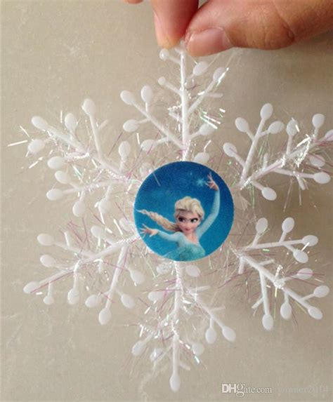 exclusive frozen character snowflakes christmas tree