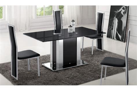trouver table a manger en verre design pas cher