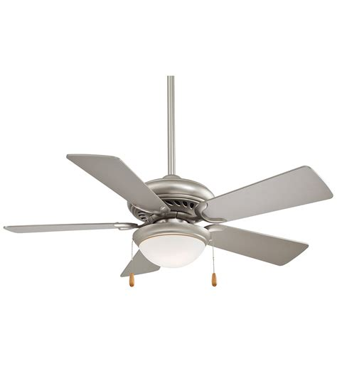44 inch ceiling fan room size minka aire f563 sp supra 44 inch brushed steel ceiling