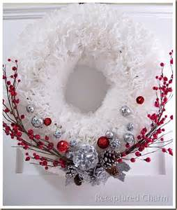 coffee filter christmas wreath totally green crafts