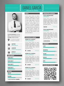 descarga plantillas editables de curriculum vitae cv With plantillas de resume gratis