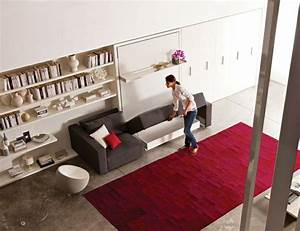 le canape lit convertible le petit fils de murphy bed With tapis rouge avec redoute canape lit