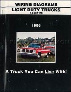 1986 Gmc 1  2  3  4   U0026 1 Ton Truck Overhaul Manual Original