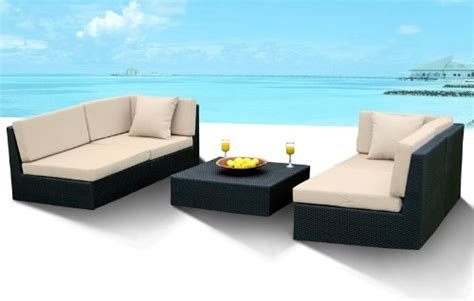 discount outdoor wicker furniture new all weather 5pc