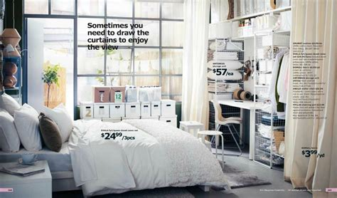Ikea Small Bedroom Ideas by Ikea Small Bedroom With No Closet Interior Design Ideas