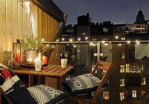 50 cozy balcony decorating ideas With balkon ideen lichterkette